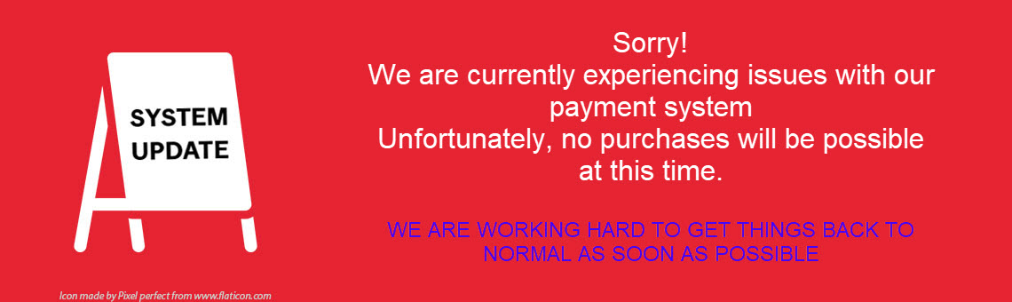 Payment Issues - No purchases at this time