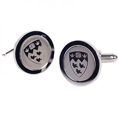 McGill University Graduation Commemorative Cufflinks Silver