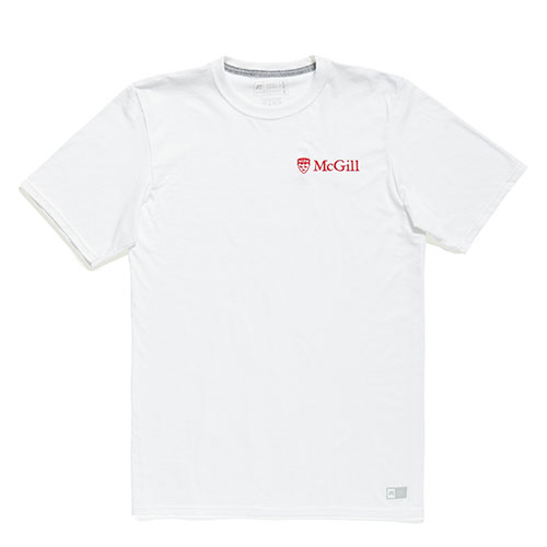 McGill University Embroidered Tee