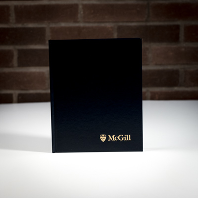 McGill University Composition Book Black