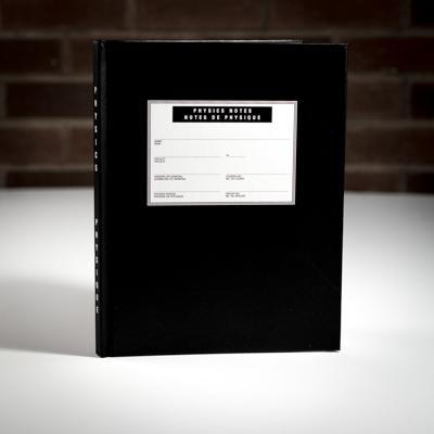 McGill University Physics Lab Book - BLACK