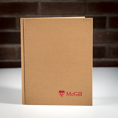 McGill Composition Book Gold