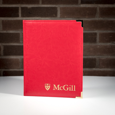 McGill Certificate Holder