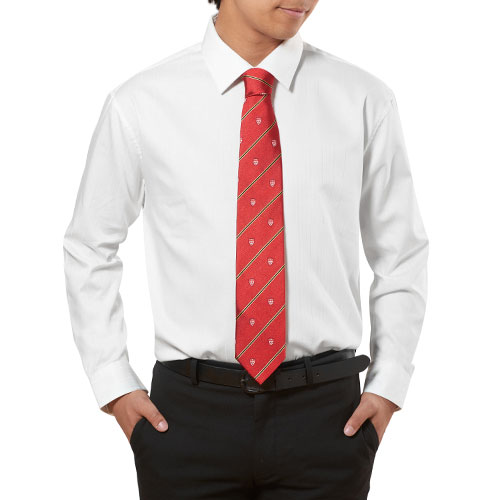 McGill University Alumni Tie Red Gold