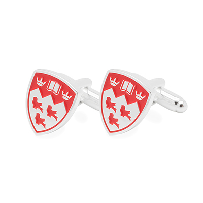 McGill Silver Plated Cufflinks