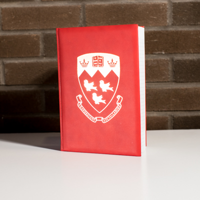 McGill University Crest Notebook