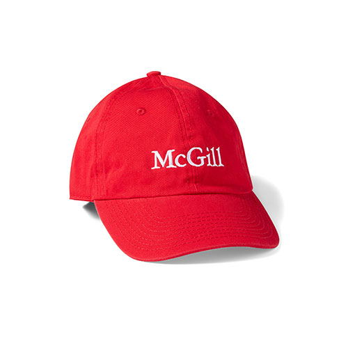 HAT BASEBALL DAD COTTON TWILL - RED