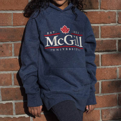 Mcgill University Children Hoodie