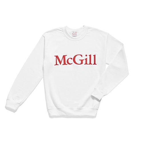 McGill 2 Tone Embroidered Fleece