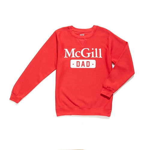 McGill Dad Fleece Crew