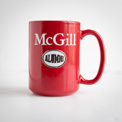 McGill University Mug Alumni Red