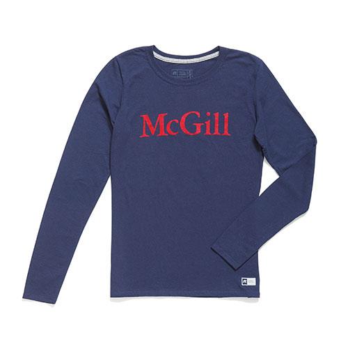 McGill T SHIRT LADIES LS ESSENTIAL