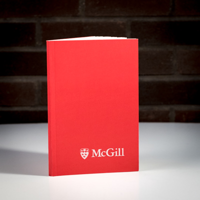 McGill Eco Recycled Paper Notebook