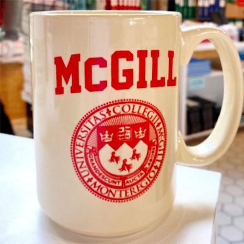 McGill Varsity Mug - ALMOND