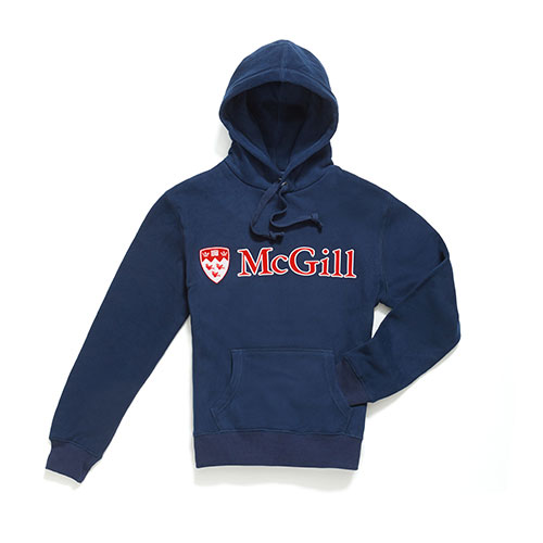 HOODIE UNISEX MCGILL TWO COLOUR TWILL