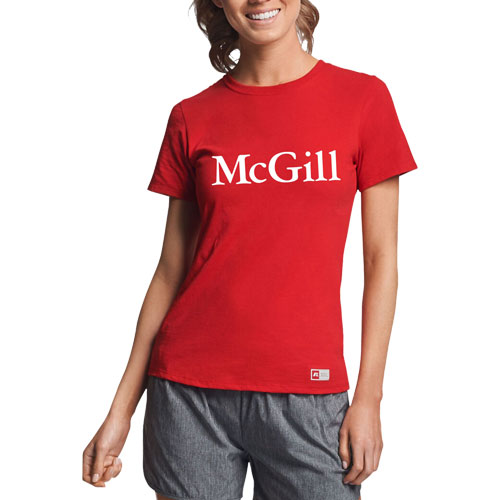 McGill Russell Ladies S/S Tee - RED