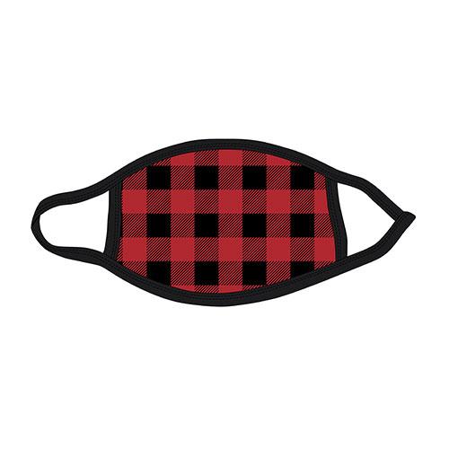 Check Reusable Mask - RED/BLACK