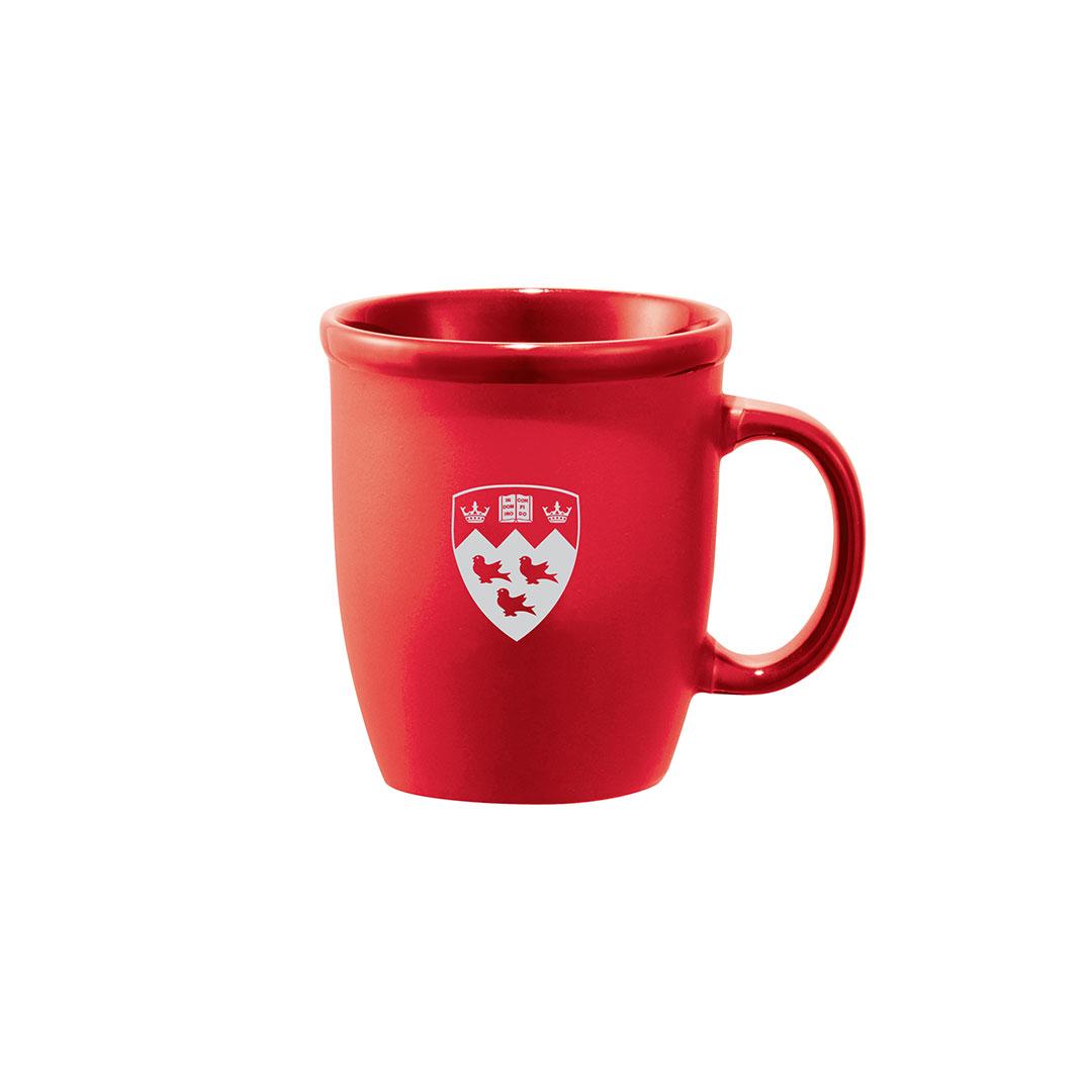 McGill Crest Matte Ceramic Mug