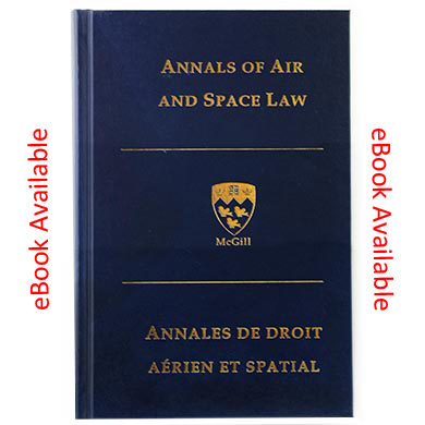 Annals of Air and Space Law 2014