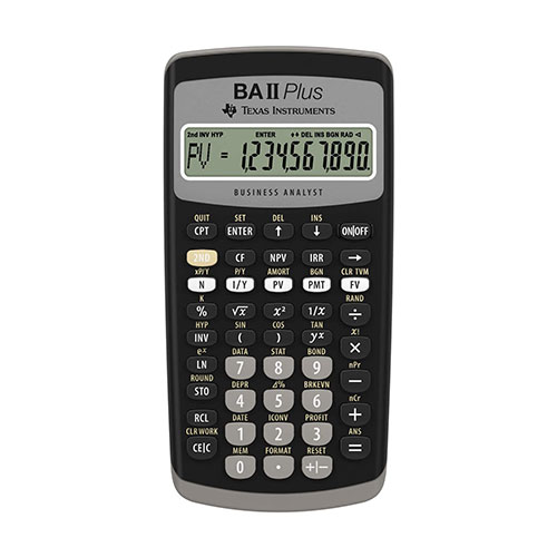 Texas Instruments BA2 PLUS Calculator