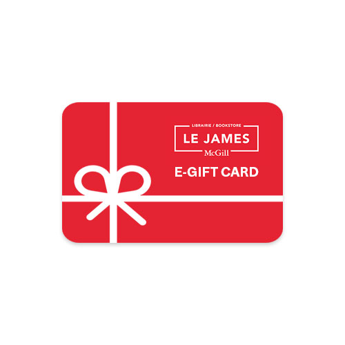 LE JAMES McGill Bookstore - e-Gift Card for online use only