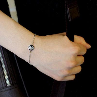 McGill Mini Crest Bracelet - SILVER