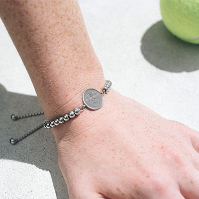 McGill Stainless Steel Wimbledon Bracelet: the perfect McGill University accessory (ideal as a souvenir or a gift)