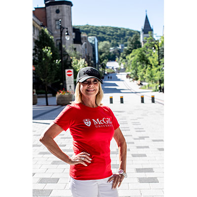 McGill University Basic Tee - RED