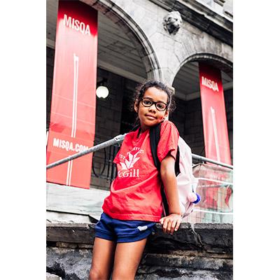 McGill Canada Kids Tee - RED