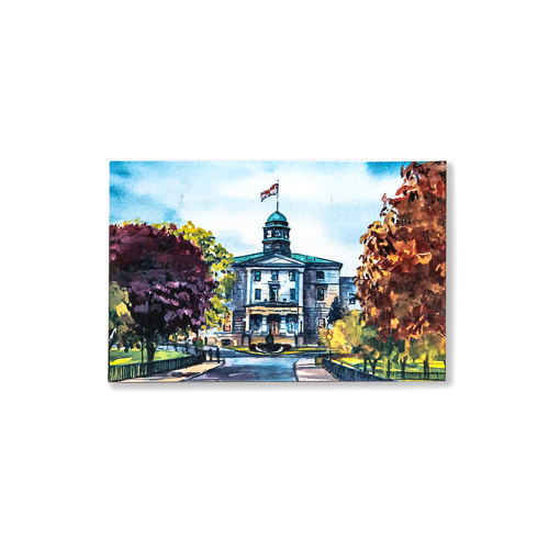 McGill Arts Building Postcard