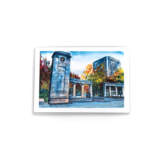 McGill Roddick Gates Notecard