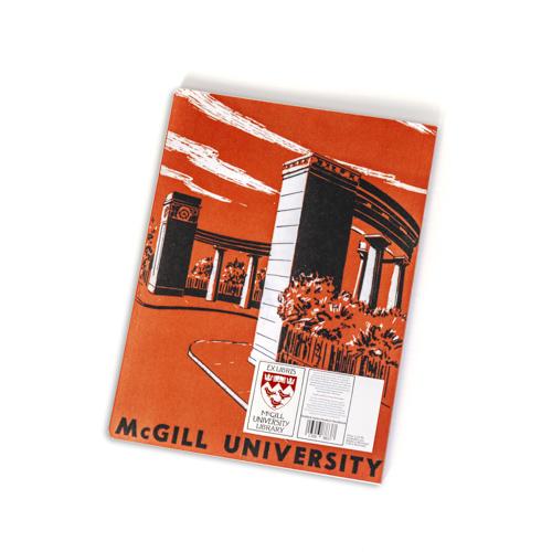 McGill Roddick Gate Sketch Notebook