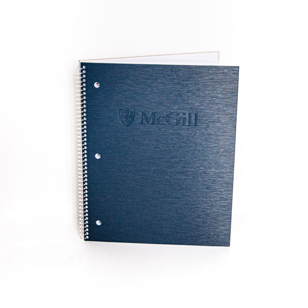 McGill 3-Subject Poly Cover Notebook