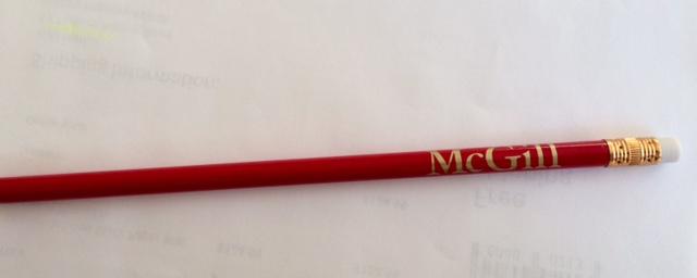 McGill Pencil