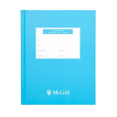 McGill University Lab Book - BLUE