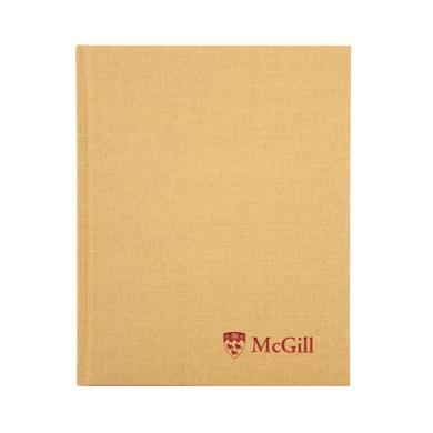 McGill Composition Book - GOLD
