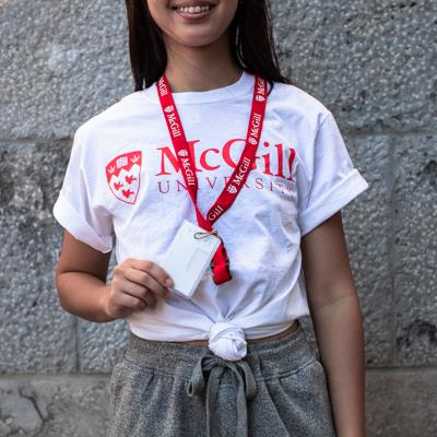 McGill University Lanyard