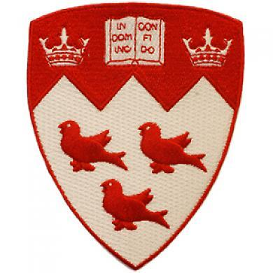 McGill insignia for school pride