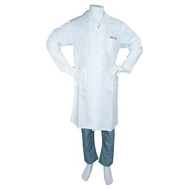McGill University Lab Coat Long with Snaps