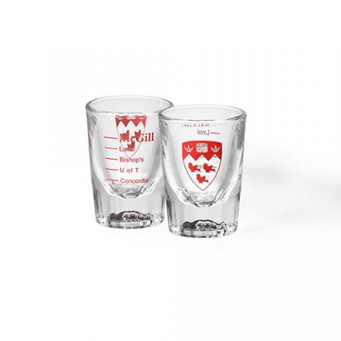 McGill Pride Shot Glass