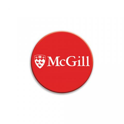 McGill Fridge Magnet Red, White and True
