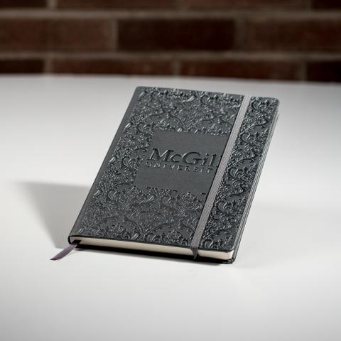 McGill Damask Hardcover Notebook