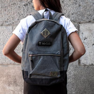 BACKPACK WILLLAND SILVER GROTTO DARK GREY