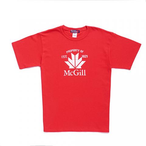 McGill Canada Kids Tee