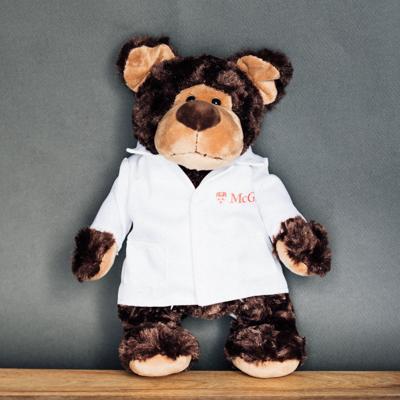McGill Teddy Bear With Lab Coat