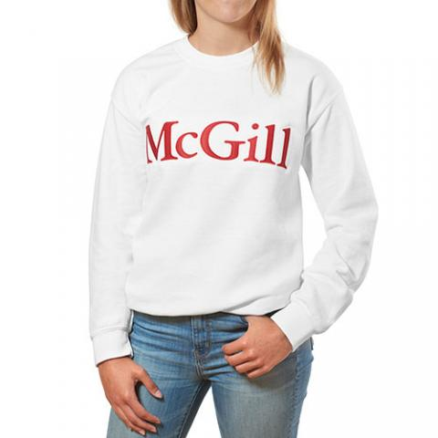 McGill 2 Tone Embroidered Fleece