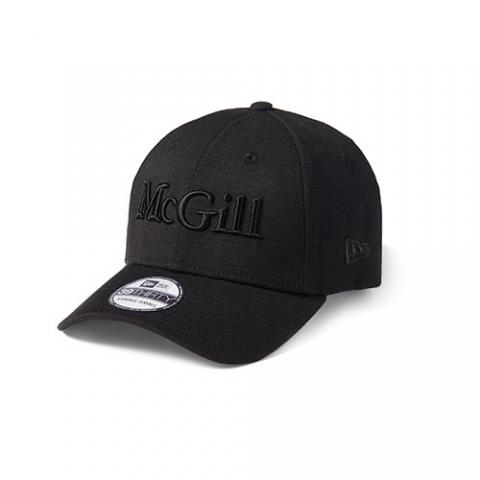 New Era McGill Cap][BLACK