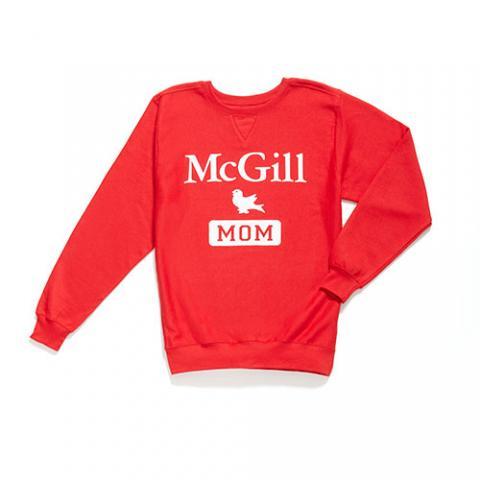 McGill Mom Fleece Crew