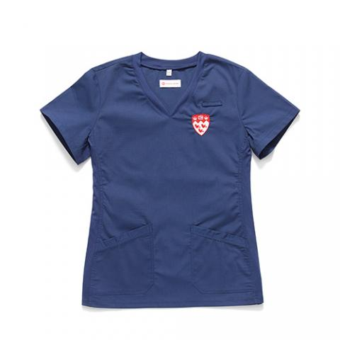 Classic McGill Ladies V-Neck Scrub Top