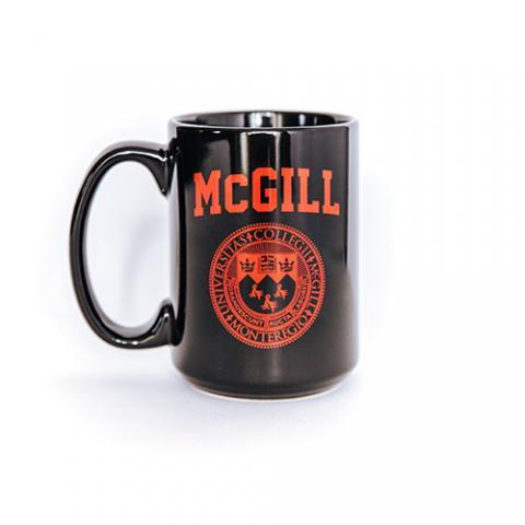 McGill Varsity Mug - BLACK